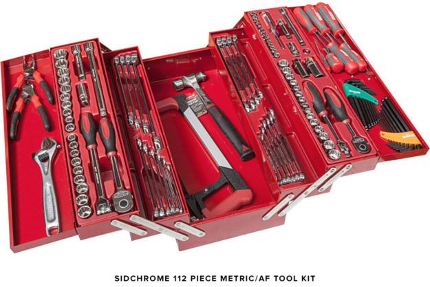 Sid chrome tool kit: Ideal for motorcycles