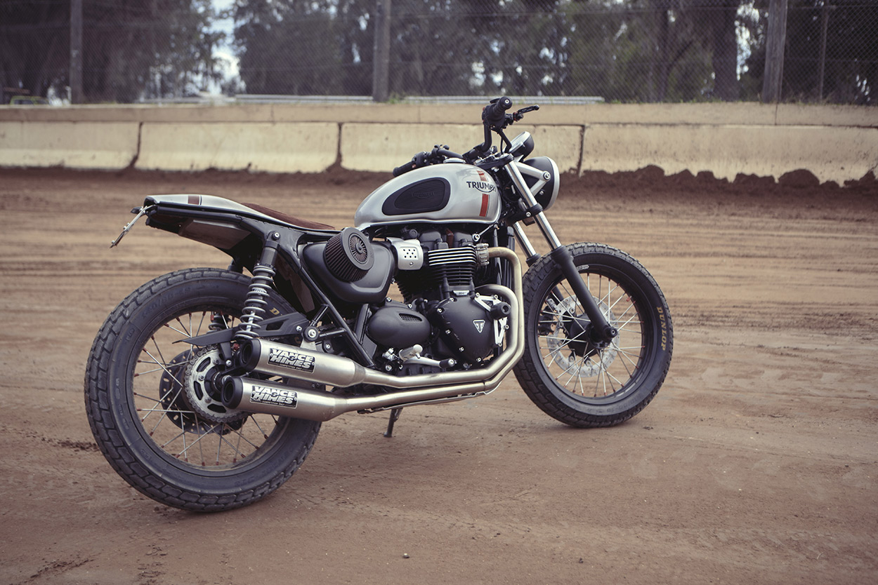 How to turn the Triumph Street Twin into a flat tracker | Bike EXIF