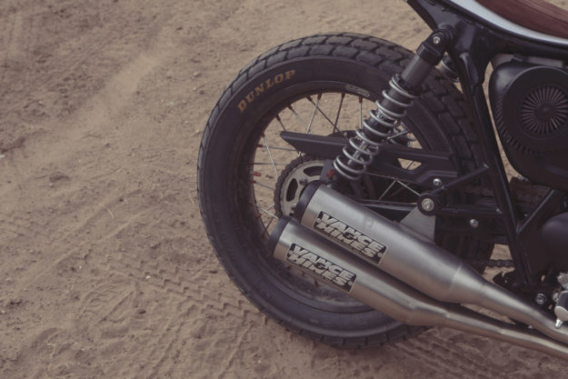 Triumph Street Twin flat tracker by Standard Motorcycle Co., built for the RSD Super Hooligan National Championship