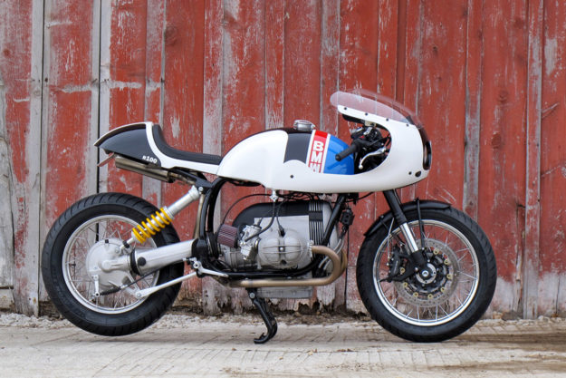 White Hot: A track-inspired BMW R100 by Union Motorcycle Classics