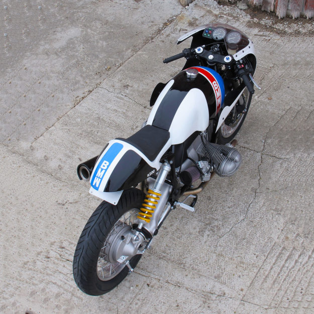 White Hot: A track-inspired BMW R100 R by Union Motorcycle Classics