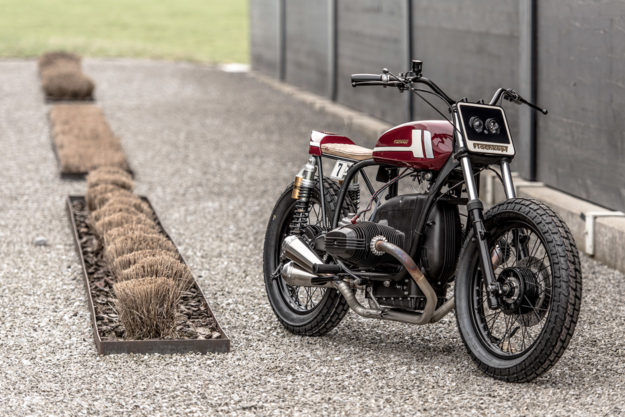 The Skinny On Building A Bmw Flat Tracker Bike Exif