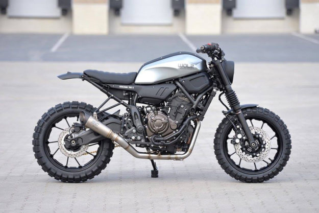 Yamaha XSR700 by WalzWerk Racing