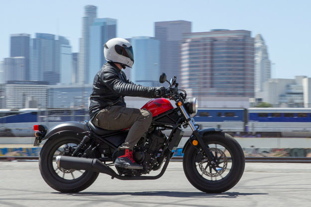 Review 2017 Honda Rebel 300 And 500 First Ride