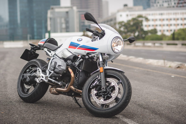 Ride Report The 2017 Bmw R Ninet Racer Bike Exif