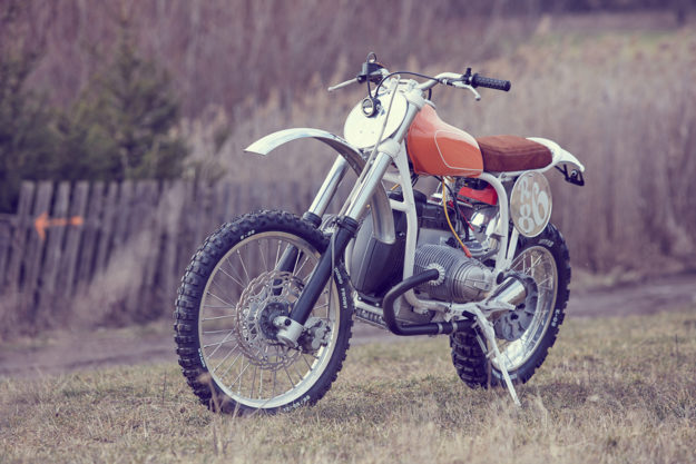 Klassiek: Wang Motorcycles' take on the BMW G/S enduro | Bike EXIF