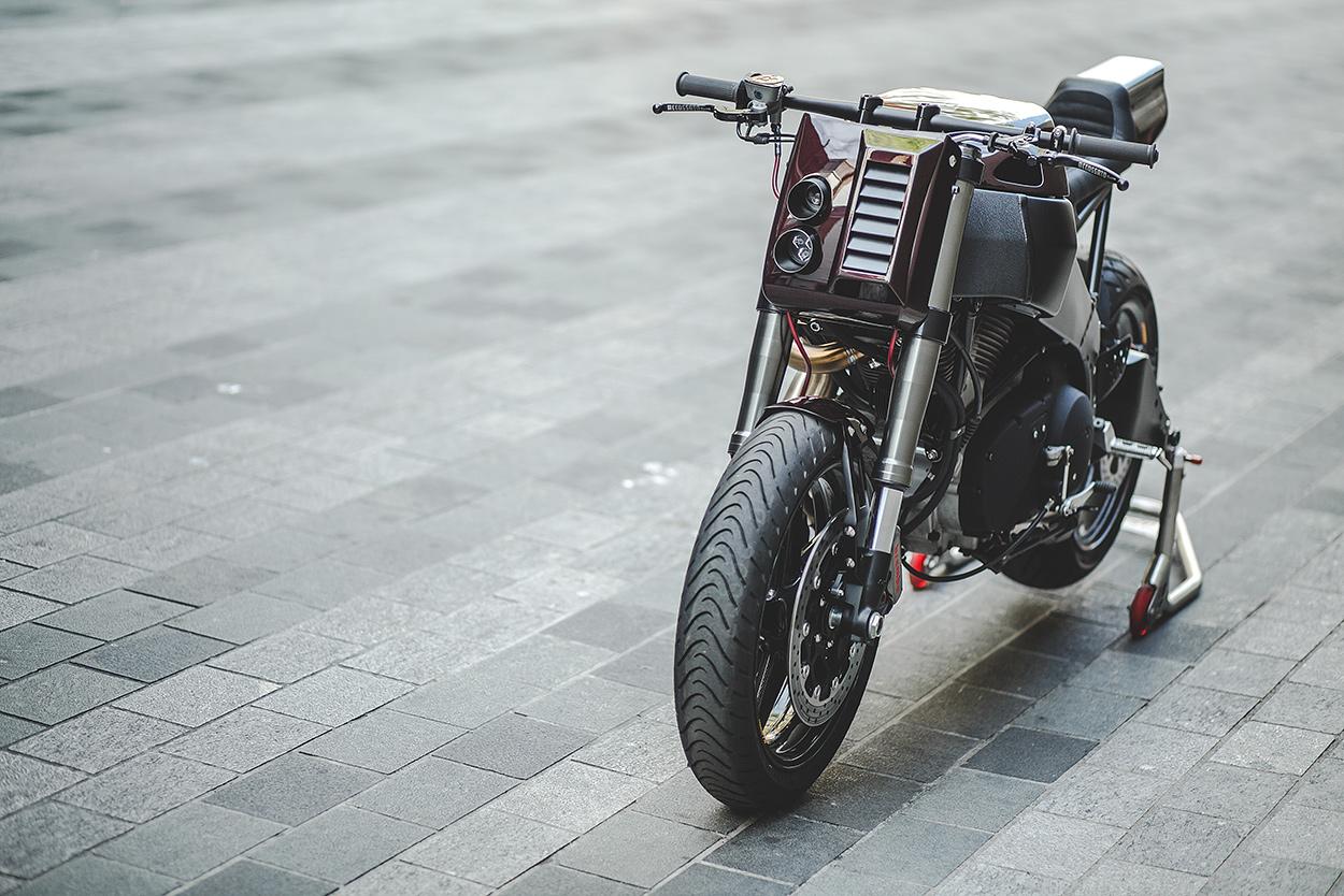 City Slicker: deBolex gives the Buell XB9 a sharp new suit | Bike EXIF