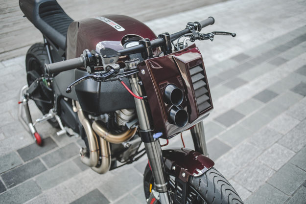 Buell XB9 City X cafe racer by deBolex Engineering