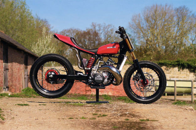 Honda CR500 tracker by Thornton Hundred Motorcycles