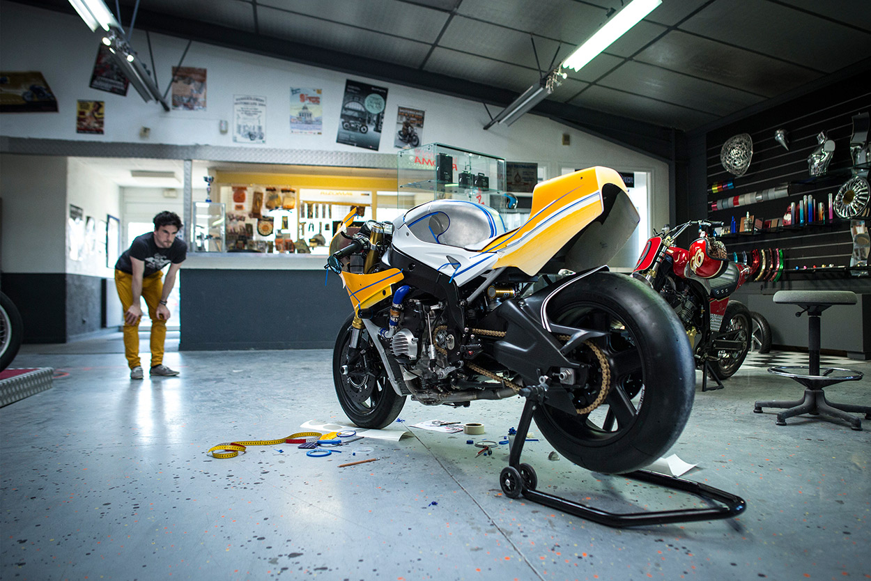 How To Build A Custom Motorcycle Planning The Project Bike Exif Ft500 Ascot Wiring Diagram Full Size