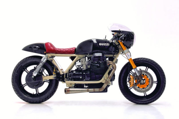 Moto Guzzi 850 by Herencia Custom Garage