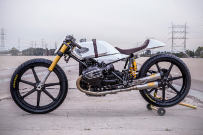 BMW R nineT board tracker by Roland Sands Design