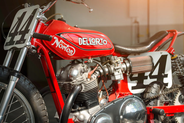 Iconic: The Ron Wood 'Lightweight' Dell'Orto Norton