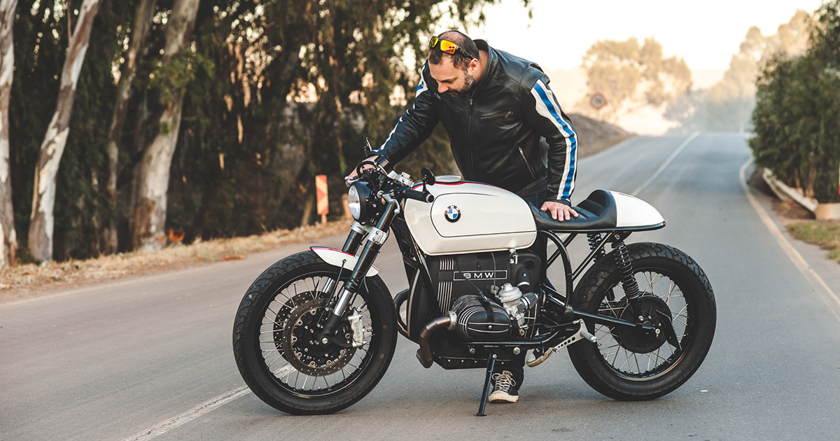 Obsession: Mark Johnston's 11th BMW is this R100RT cafe