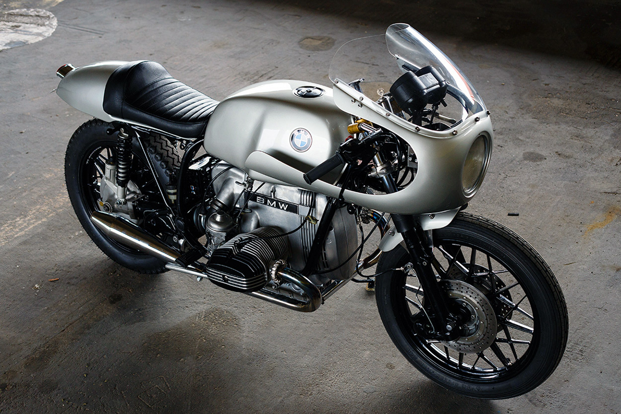 Paul Tremmel's BMW R100 café racer The story of the builder of this BMW is arguably even more interesting than the bike itself.