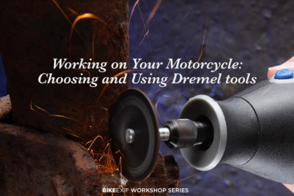 Tools for your motorcycle workshop: The Dremel rotary tool