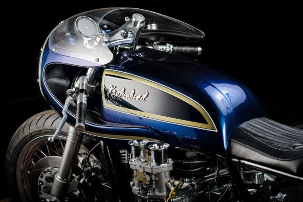 Blueberry Bomber: Krakenhead's mighty custom Gold Wing