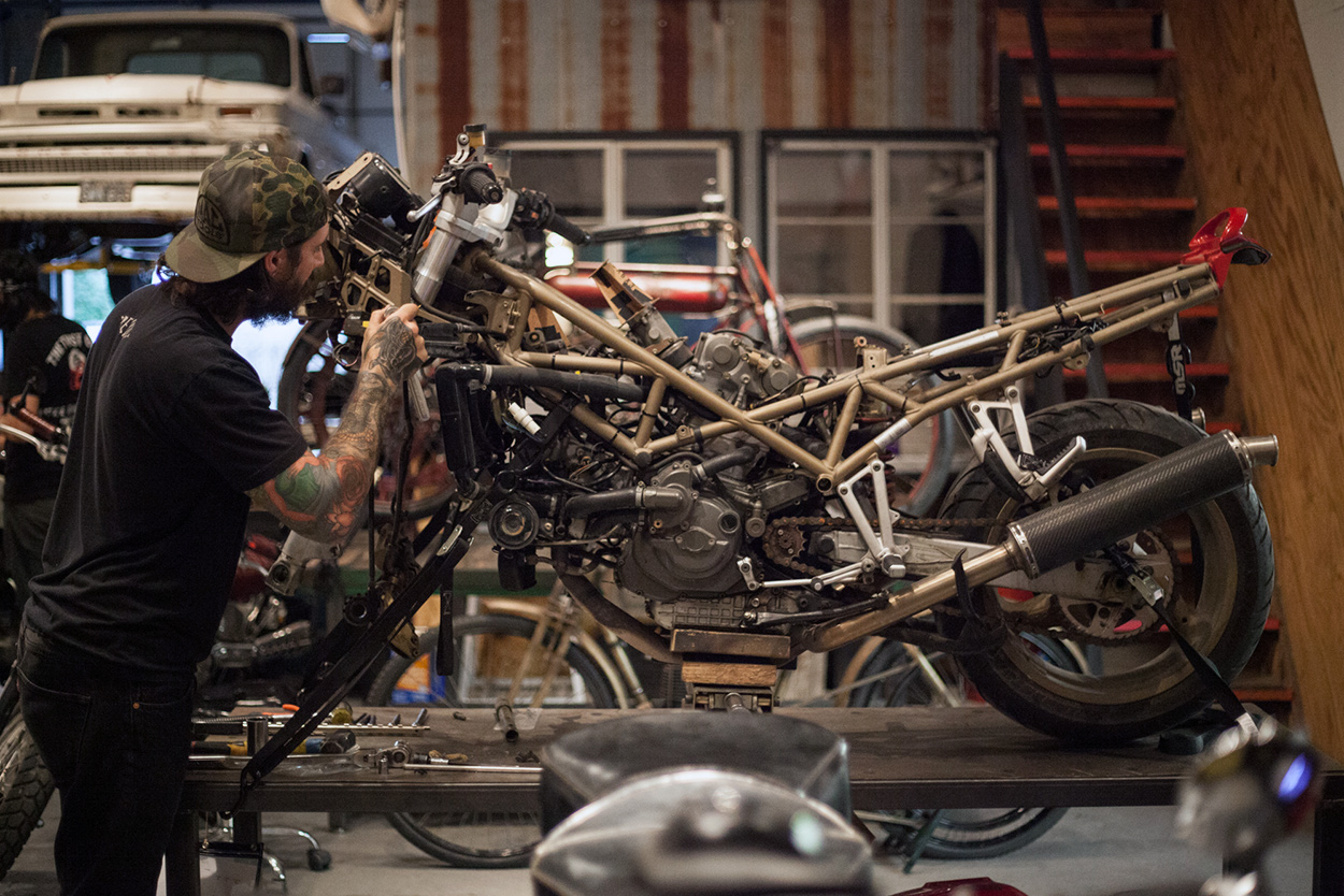 A Most Obnoxious Ducati: Revival's sidecarcross 'Odioso' | Bike EXIF