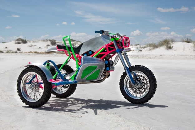 Ducati sidecarcross motorcycle by Revival Cycles