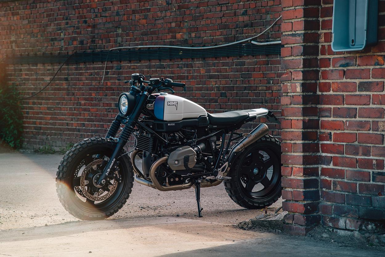 Factory Approved The Jvb Moto Bmw R Ninet Scrambler Bike Exif