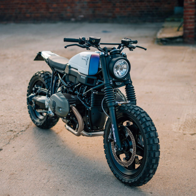 Factory Approved The Jvb Moto Bmw R Ninet Scrambler Bike Exif