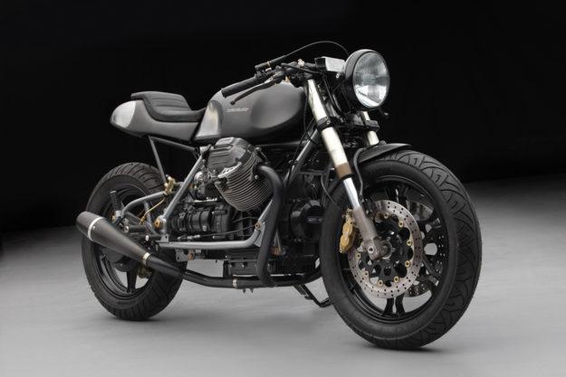 Moto Guzzi 1000 SP cafe racer by Moto Studio