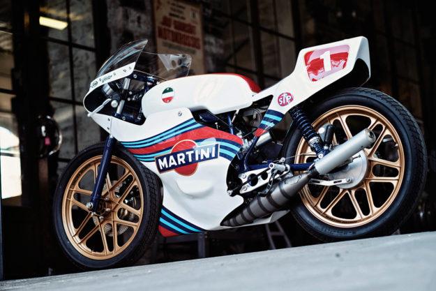 SWM 'Martini' racer by Renard