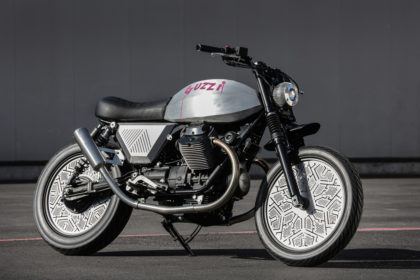 Tomoto: The Tom Dixon x Venier Moto Guzzi V7