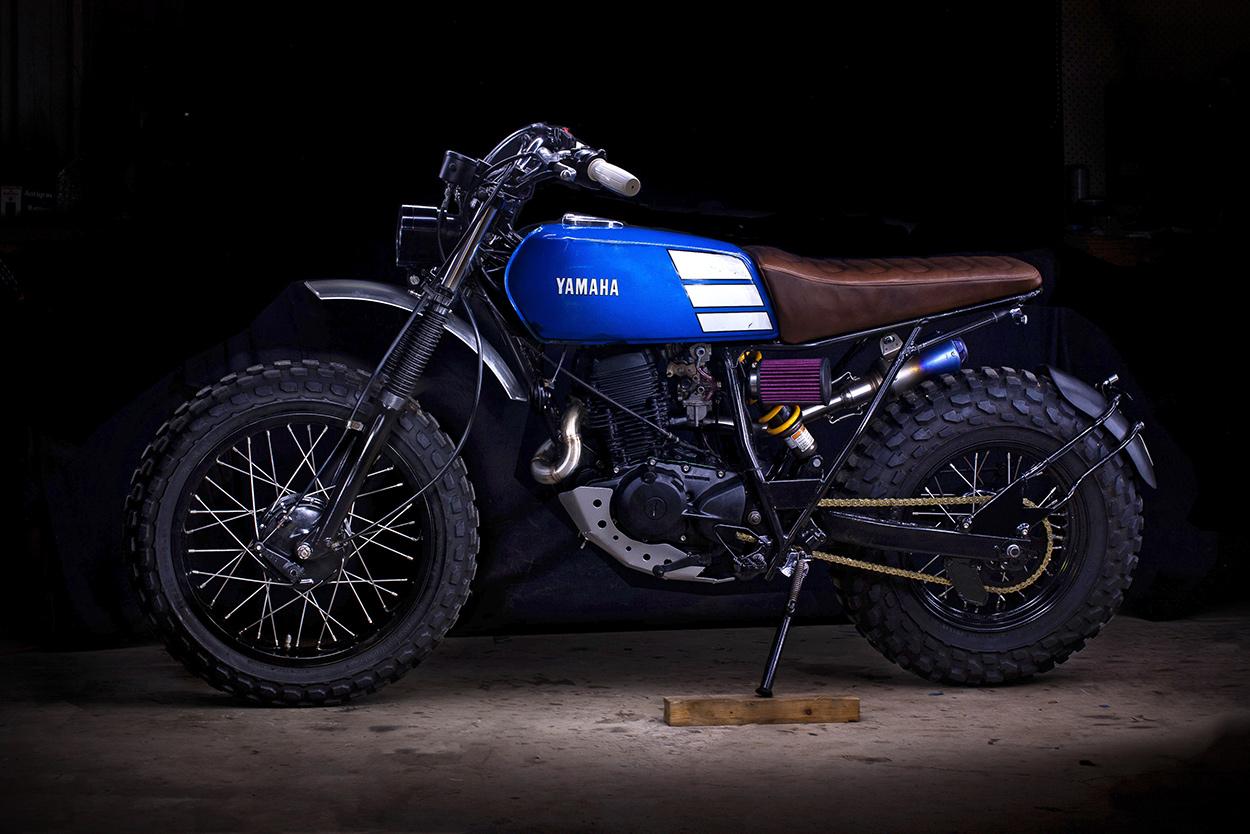 Two-Wheeled Tonka: Lanesplitter's Yamaha TW200 | Bike EXIF