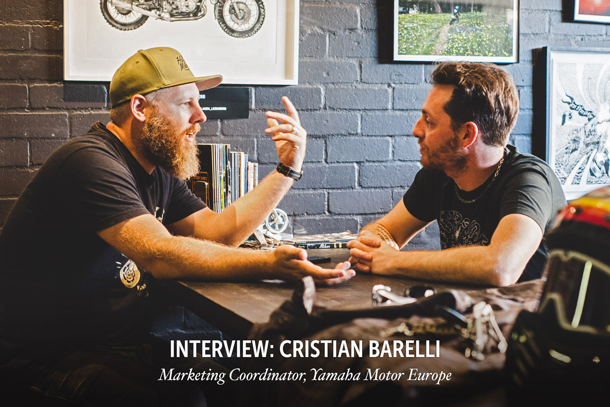Q&A: A manufacturer's view of the custom scene, with Yamaha's Cristian Barelli