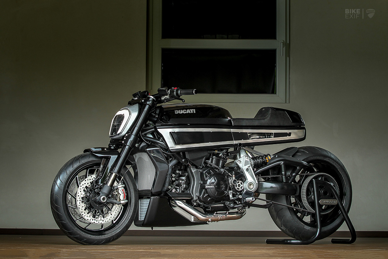 Custom Ducati Diavel by Krugger