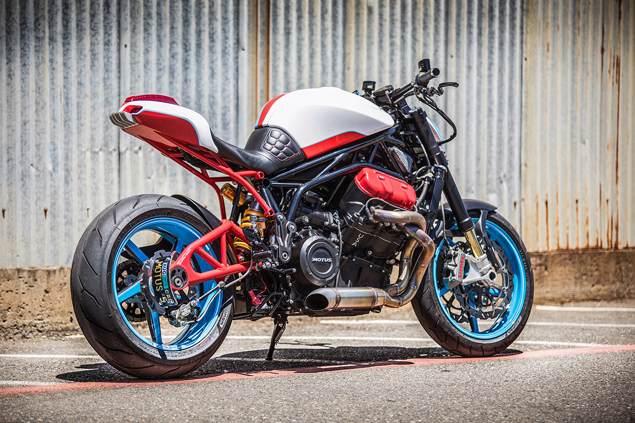 Rather Than Repair The Mstr To Factory Spec, John Decided To Turn His Bike  Into A 'naked Streetfighter' And Motus Quickly Saw An Opportunity—a Chance  To
