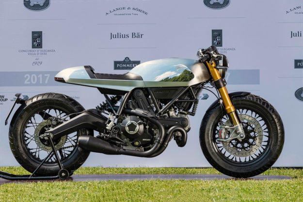 Scrambler Ducati Concepts: The cafe racer