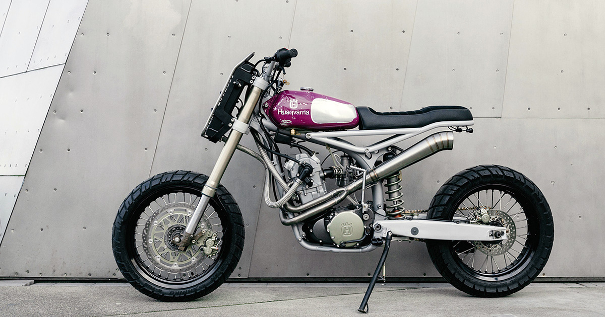 Dual-Sport Dynamite: Moto Mucci's Husqvarna TE 570