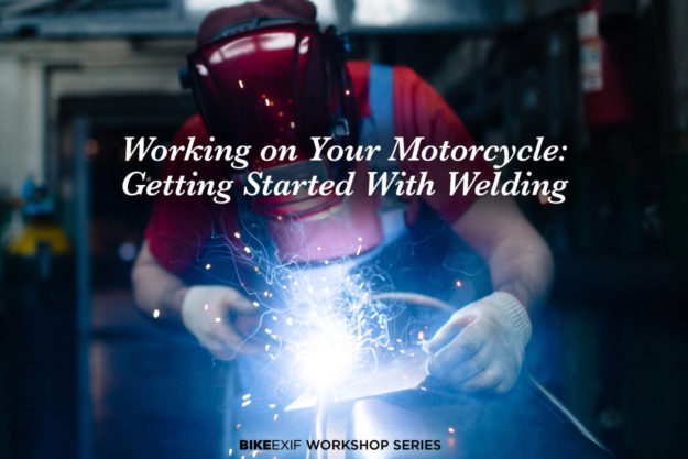 Getting started with motorcycle welding