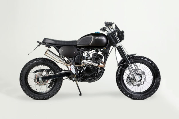 Production tracker: the Verve Tracker125i