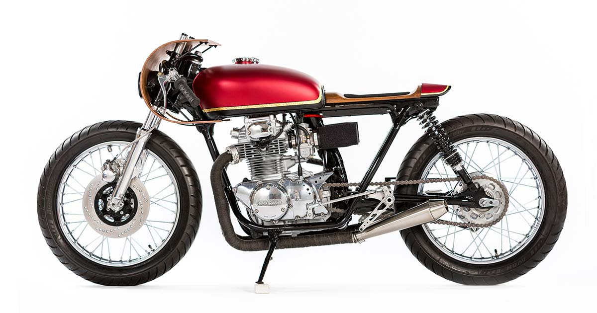 Monnom Customs Honda CB350 Cafe Racer