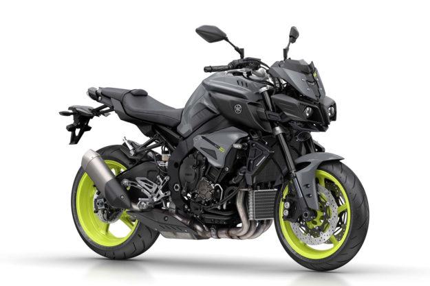 The wild Yamaha MT-10