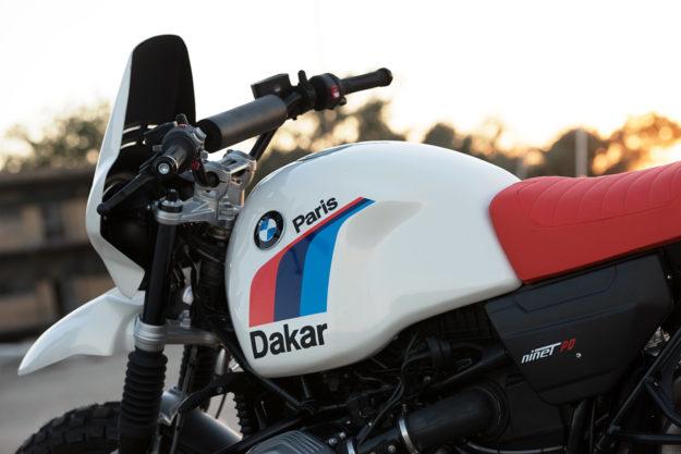 Unit Garage gives the BMW R nineT the Paris-Dakar treatment