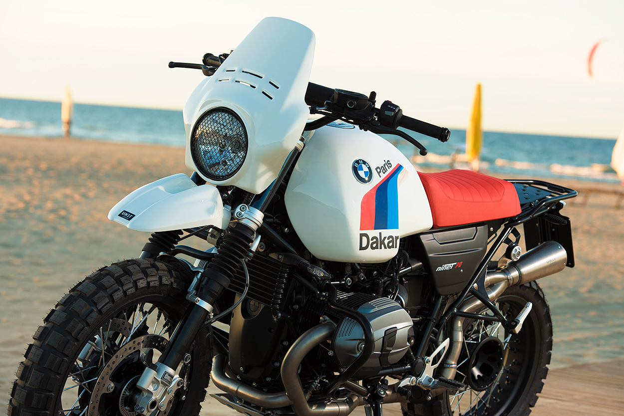 Giving The Bmw R Ninet The Paris Dakar Treatment Bike Exif
