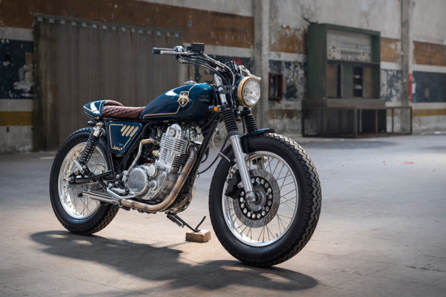 Yamaha SR400 by Bunker Custom Cycles of Istanbul