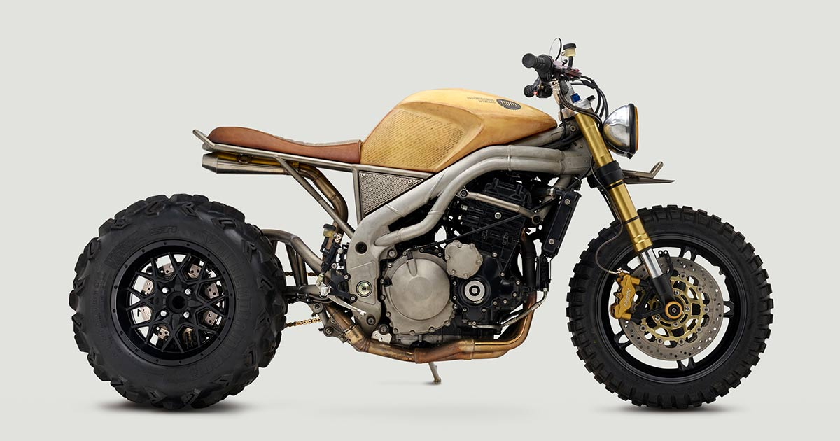 Blunt Weapon: Classified Moto's Speed Triple 'Frank'