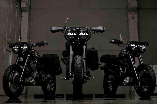 Harley-Davidson Sportsters by El Solitario MC