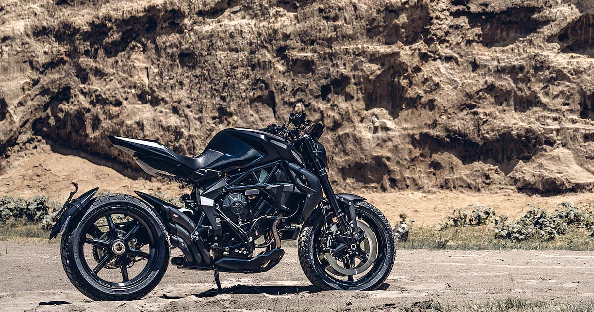 Rough Crafts scrambles the MV Agusta Dragster RR