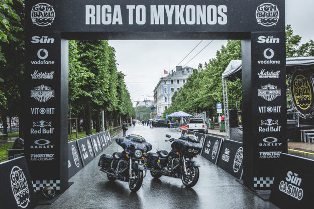 Ride Report: The first ever motorcycle team at the Gumball 3000 rally