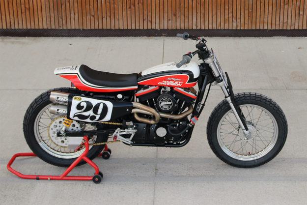 Harley-Davidson Sportster tracker by Breizh Coast Kustoms