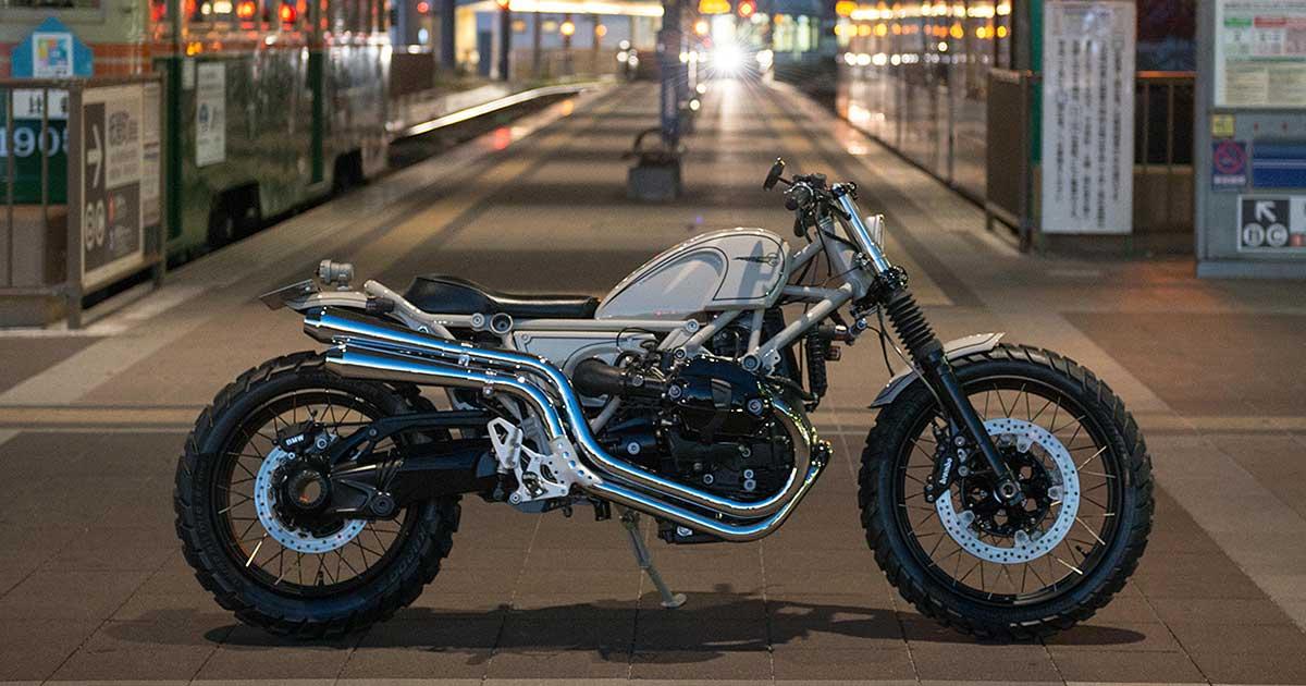 BMW x Heiwa: The R nineT Scrambler Custom Project