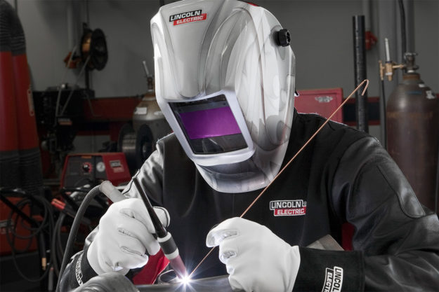 Welding safety gear by Lincoln Electric
