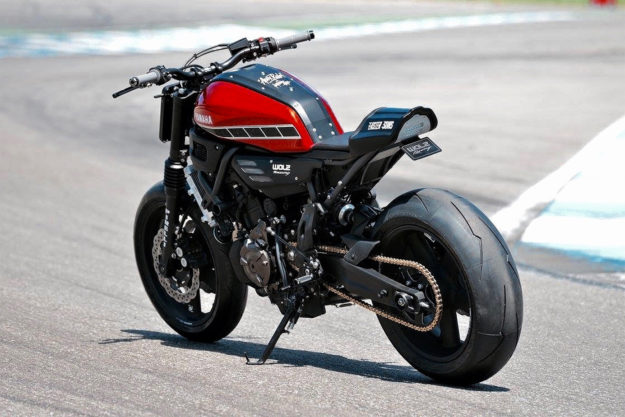 Yamaha XSR700 by WalzWerk Racing