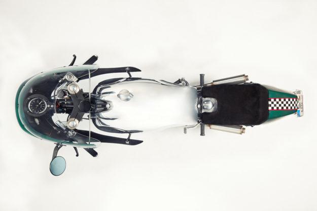 Reinhard Neumair's Norton Atlas Race Replica